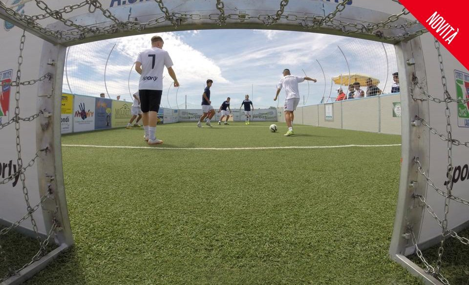 gabbia cage soccer